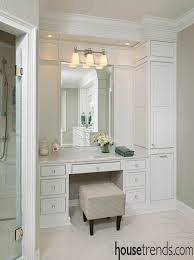 master bathroom cabinets ideas. Simple Master Bathroom Makeup Table Desire Brilliant Top 25 Best Built In Vanity Ideas On  Pinterest With Regard To 16  Master Cabinets