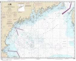 Gulf Of Maine Chart 13260 Bay Of Fundy To Cape Cod Nautical Chart
