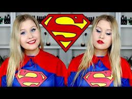 superwoman super makeup and costume tutorial
