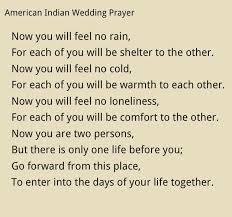 Native American Wedding Prayer Commitment ceremony! | POEMS ... via Relatably.com