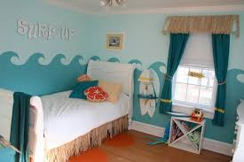 cool surfing bedroom design for a