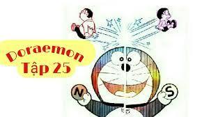 Truyện Tranh Doraemon   Tập 25 - Nam Châm Rắc Rối   Truyện Tranh Thuyết Minh  - Collectif-du-chambon