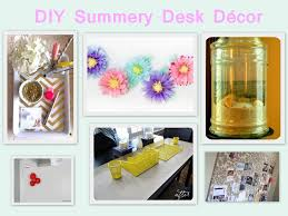 Office diy projects Office Storage Box Desk Decor Careerbliss Office Inspiration Summery Diy Desk Décor Projects Careerbliss