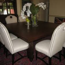 bright and modern tufted dining chairs with nailheads 47