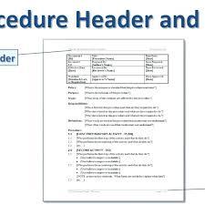 We Prepared Standard Operating Procedure Sop Templates Examples ...