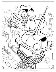 Kleurplaat Donald Duck 11 Topkleurplaatnl