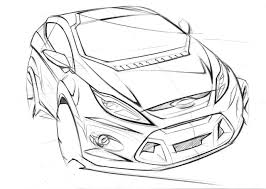Hatchback drawing at getdrawings