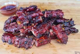 sweet sticky pork riblets recipe