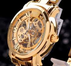 men watches wind up online wind up watches for men for brand mce gold strap golden frame hollow skeleton watch men stainless steel watch mechanical watch mce gold watches dorp shipping