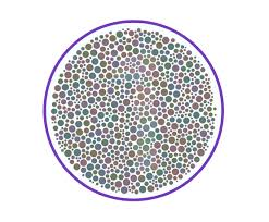 Driver S License Eye Exam Chart Color Vision Deficiency