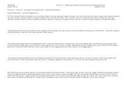 system equations word problems worksheet algebraic worksheets algebra pdf