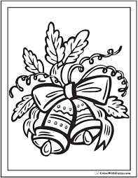 Small Picture Bells Coloring Sheet