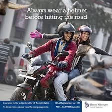 image of riding a two wheeler wearing a helmet के लिए इमेज परिणाम