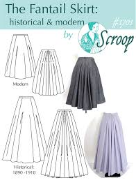 Skirt Pattern Best The Fantail Skirt By Scroop Patterns