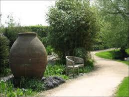 large urn in park