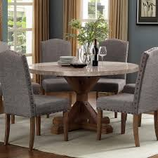 Vesper Dining Round Dining Table With Pedestal Base By Crown Mark At Dunk Bright Furniture