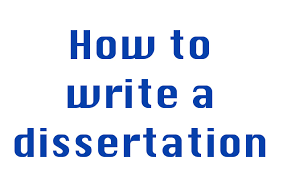 How to Write a Dissertation: Step by Step - Project Topics