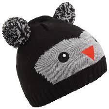 Winter Hat Designs Childrens Kids Knitted Bear Owl Design Winter Hat