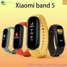 Đồng Hồ Thông Minh Xiaomi Mi Band 5 - Bảo Hành 12 Tháng - Shop Thế Giới  Điện Máy Thế giới điện máy
