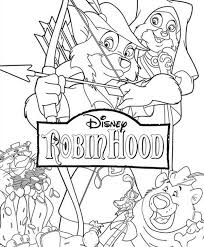 Small Picture Disney Robin Hood Coloring PagesKids Coloring Pages
