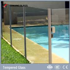 tempered glass for railings