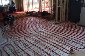 Heated Kitchen Floor Heated Driveways Cost For Built In Systems Vs Mats