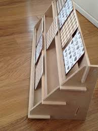 Wooden Greeting Card Display Stand Display Stand 100 shelf version flat pack ideal for craft 12
