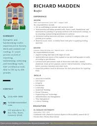 Proven Resumes Roofer Resume Example