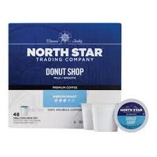 Strong fresh coffee sur north star coffee shop. North Star Donut Shop Single Serve Coffee Cups 48 Count K Cup Pods Shop Your Navy Exchange Official Site