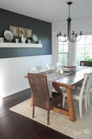 dining room wall design of luxury white rooms tables