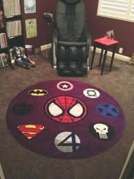 marvel superhero area rugs favorite super in a 6 round personalized rug website homepage ideas great marvel superhero area rugs