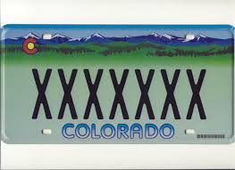 Colorado License Plate Designs Regular License Plates Department Of Revenue Motor Vehicle