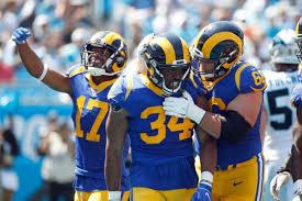 The Los Angeles Rams Seal 30 27 Victory Over Carolina