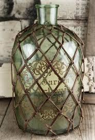 Large Decorative Glass Jars Decorative Netted Glass Bottle Home Decor Pinterest Glass 13