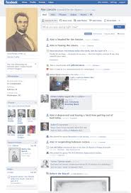 facebook template for student projects. facebook template History Tech