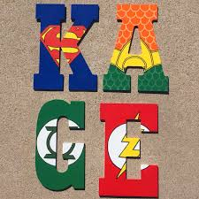 Superheroes Bedroom Superhero Nursery Etsy