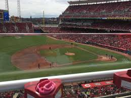 Reds Seating Chart Mezzanine Great American Ball Park Section Mezzanine 416 Home Of