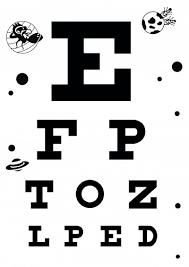 Eye Chart Actual Size 23 Punctilious Snellen Eye Chart Download Free