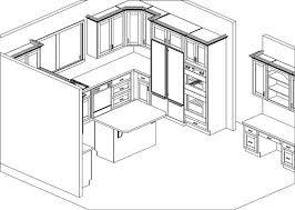 Kitchen Cabinets Design Layout
