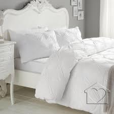 elissa white duvet cover super king