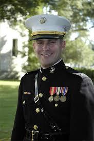 United States Marine Officer Warren A Frank Captain United States Marine Corps