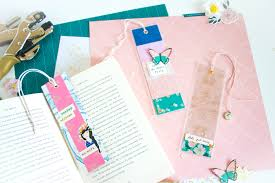 cute craft ideas for girls shaker style diy bookmarks using maggie holmes sunny days collection