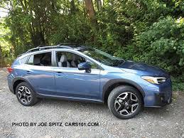 2018 subaru crosstrek blue. perfect 2018 2018 subaru crosstrek limited limited wheels quartz blue color shown inside subaru crosstrek blue