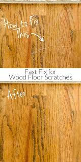 scratches in your hardwood floors try this fast fix to repair your wood floors in minutes without sanding or expensive supplies