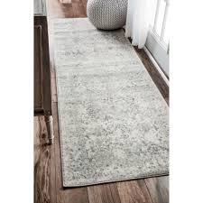 Bright Colored Kitchen Rugs Gray Silver Rugs Youll Love Wayfair