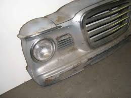 antique studebaker car front wall decor