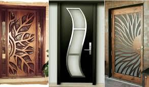 52 stylish wooden door designs