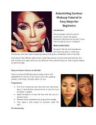 contour makeup steps. astonishing contour makeup tutorial in easy steps for beginners introduction: are you going to attend