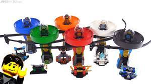 All six LEGO Ninjago 2018 Spinjitzu Masters sets reviewed! - YouTube