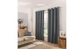 Hidden Tab Curtains Curtains Home Garden George At Asda
